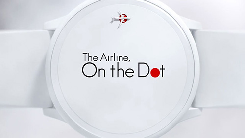"JAL""On The Dot"""
